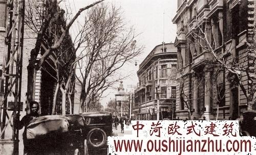 二十世纪早期法租界街景