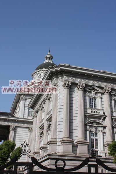 闵行法院细部