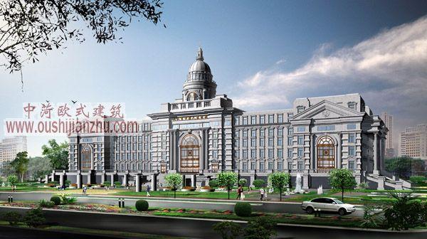 九江市中级人民法院效果图