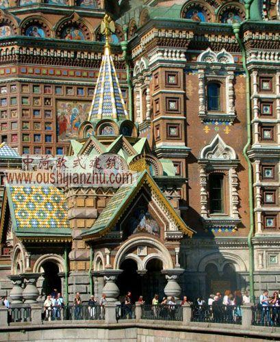 喀山大教堂和滴血大教堂