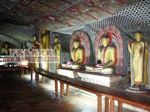 丹布拉石窟寺,斯里兰卡