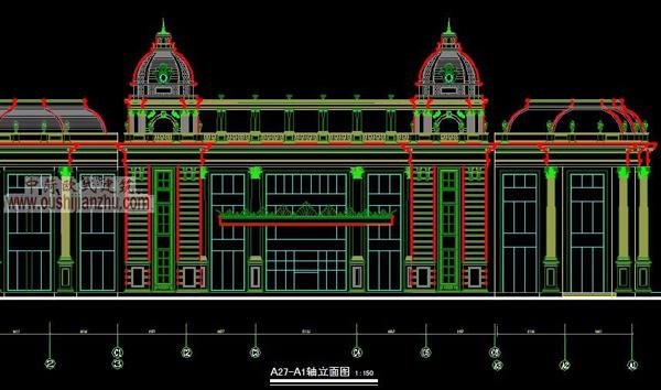 CAD立面设计方案1
