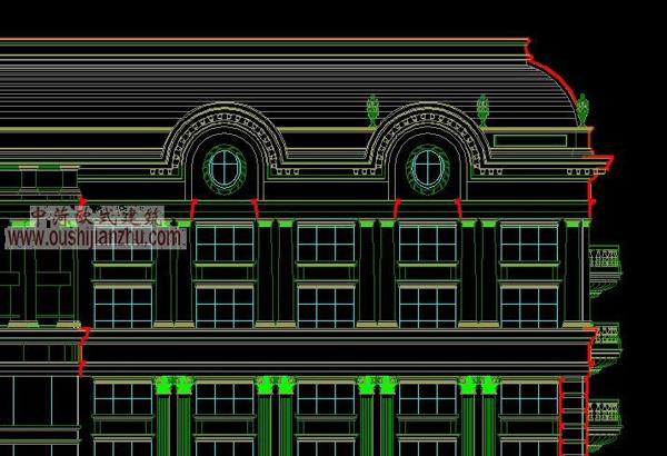 CAD立面设计方案2