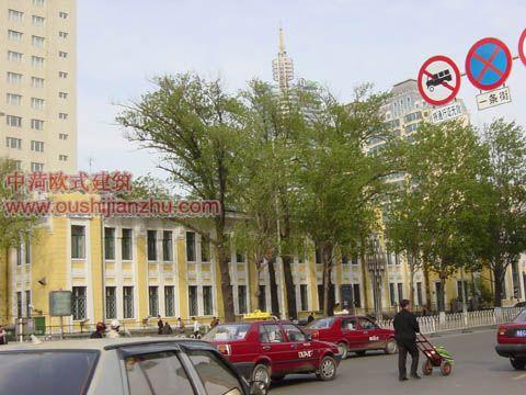 哈尔滨领事馆欧式建筑2