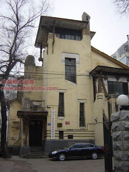 哈尔滨领事馆欧式建筑31