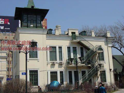 哈尔滨领事馆欧式建筑34