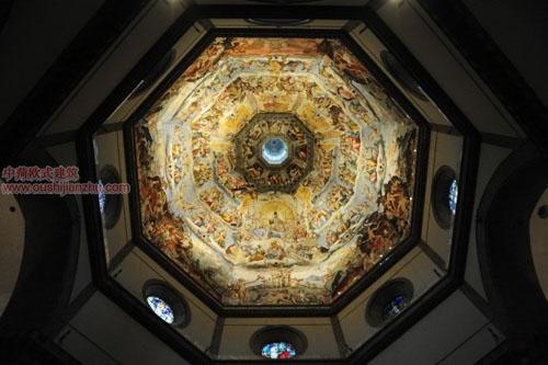 圣母百花大教堂穹顶