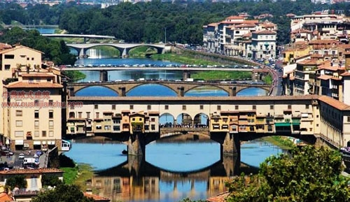 意大利佛罗伦萨旧桥