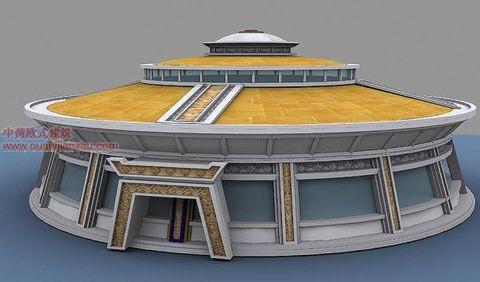 蒙古特色建筑设计6