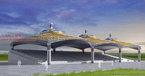 蒙古特色建筑设计2
