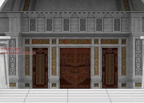 蒙古特色建筑设计9