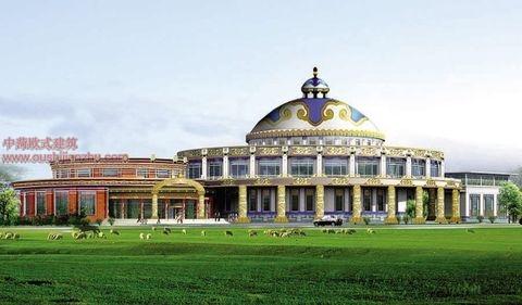 蒙古特色建筑设计1