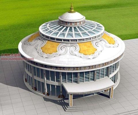 蒙古特色建筑设计7
