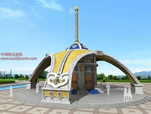蒙古特色建筑设计11