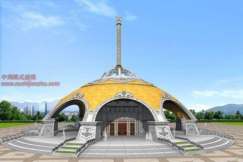 蒙古特色建筑设计10