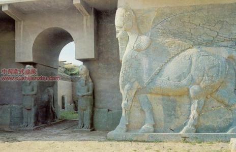 伊拉克尼姆罗德(Nimrud)古城