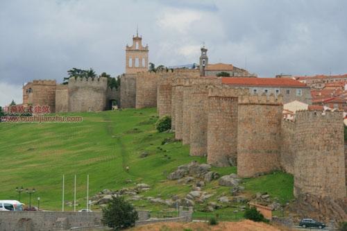 阿维拉的城墙
