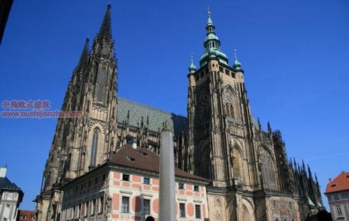 捷克圣维特大教堂1