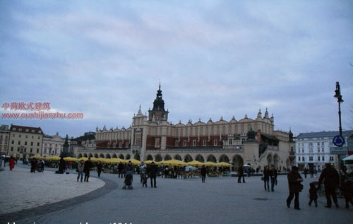 克拉科夫中央广场