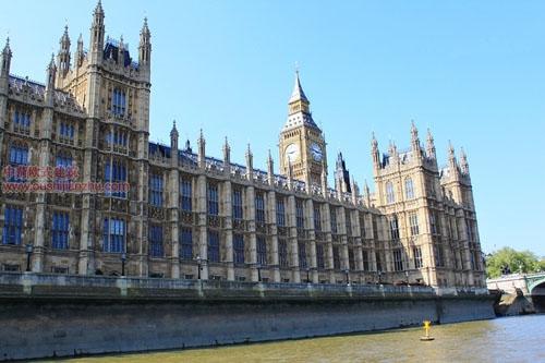 英国议会大夏和大本钟3