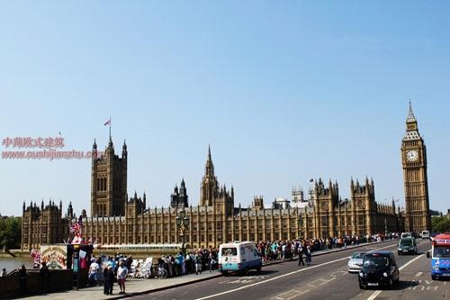 英国议会大夏和大本钟2