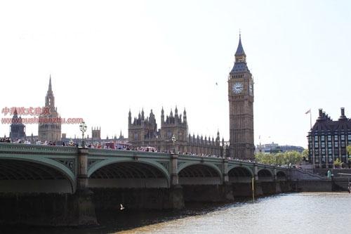 英国议会大夏和大本钟8