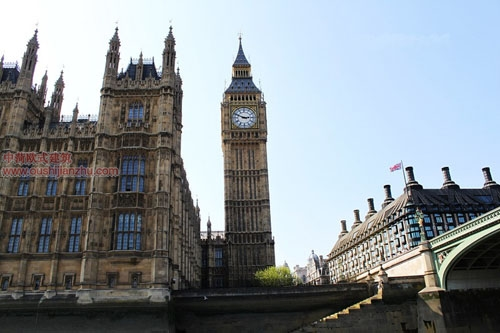 英国议会大夏和大本钟5