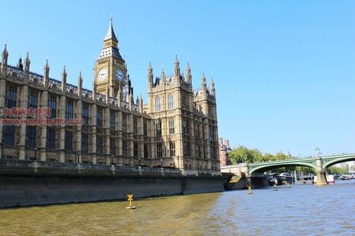 英国议会大夏和大本钟4