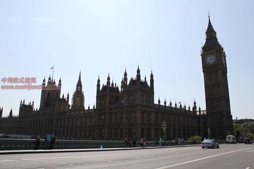 英国议会大夏和大本钟7