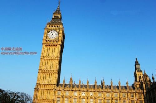 英国议会大夏和大本钟13