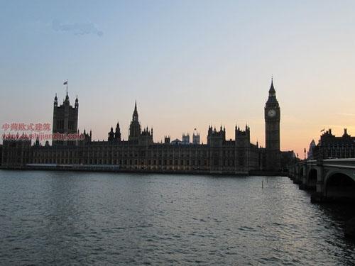 英国议会大夏和大本钟16