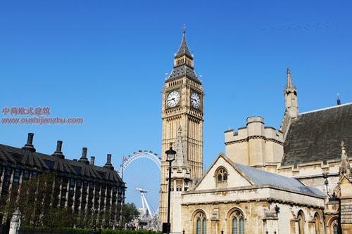 英国议会大夏和大本钟12