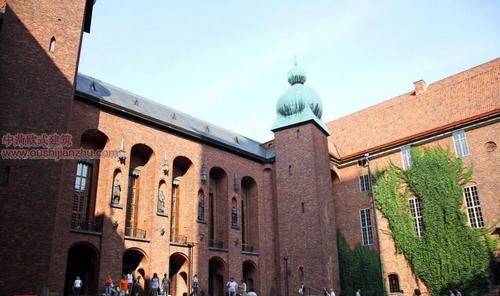 斯德哥尔摩 市政厅1
