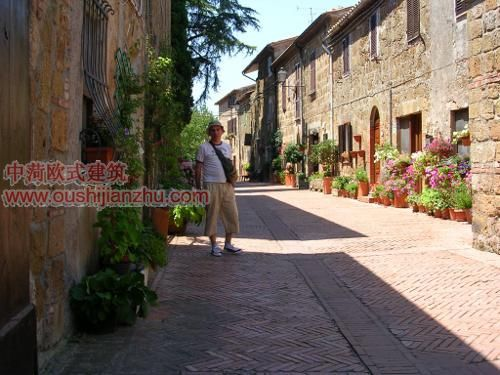 a brit in sovana