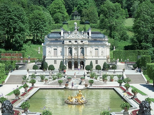 德国林德霍夫城堡
