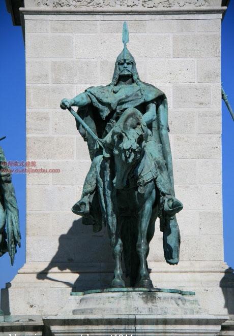 布达的城堡山和佩斯的英雄广场2