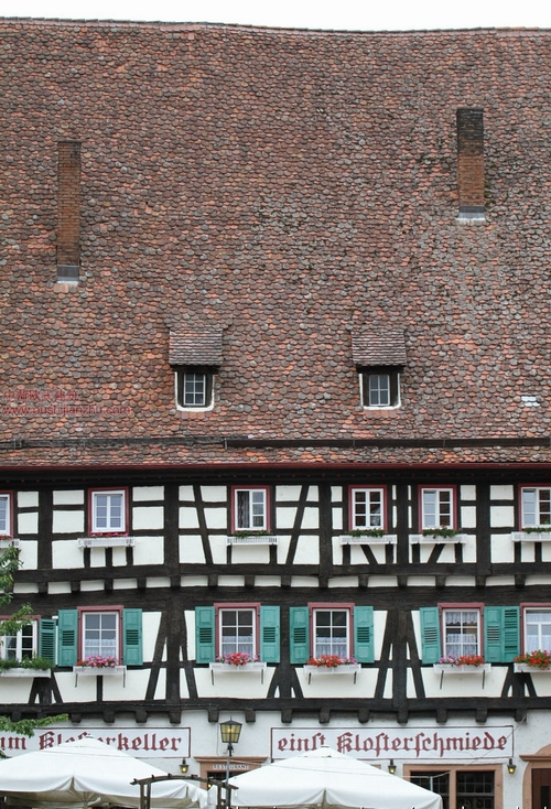 Maulbronn的修道院2