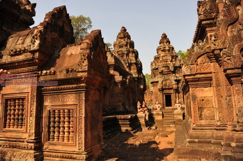 柬埔寨女王宫1