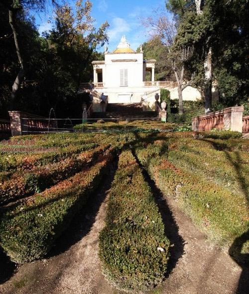 巴塞罗那迷宫公园6