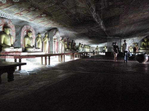 斯里兰卡金佛洞(Dambulla)和古城堡4