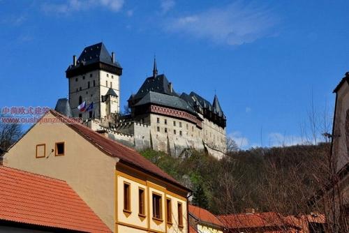 捷克卡尔斯坦城堡4