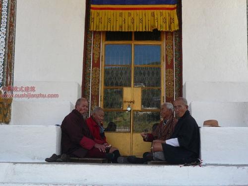 不丹的宗教建筑2