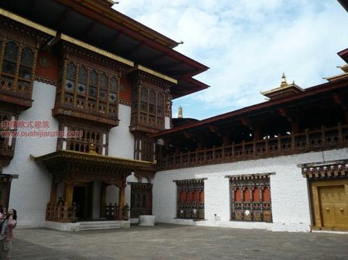 不丹的宗教建筑5