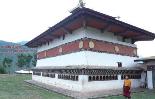 不丹的宗教建筑7