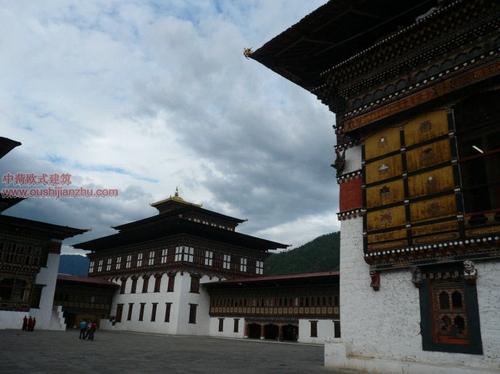 不丹的宗教建筑13