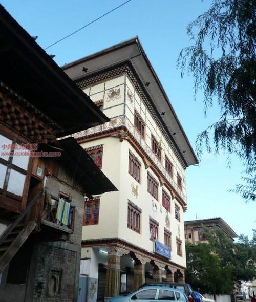 不丹独特的民居建筑3
