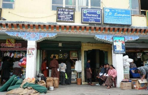 不丹独特的民居建筑6