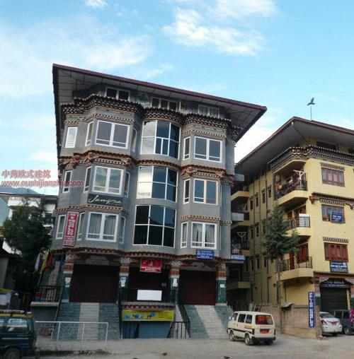 不丹独特的民居建筑5
