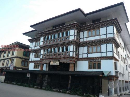 不丹独特的民居建筑9