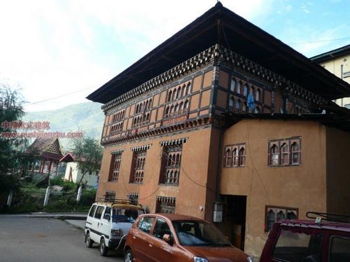 不丹独特的民居建筑4